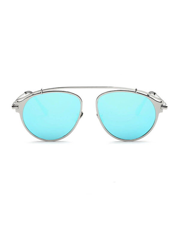 Modern-Aviator Shades---Blue