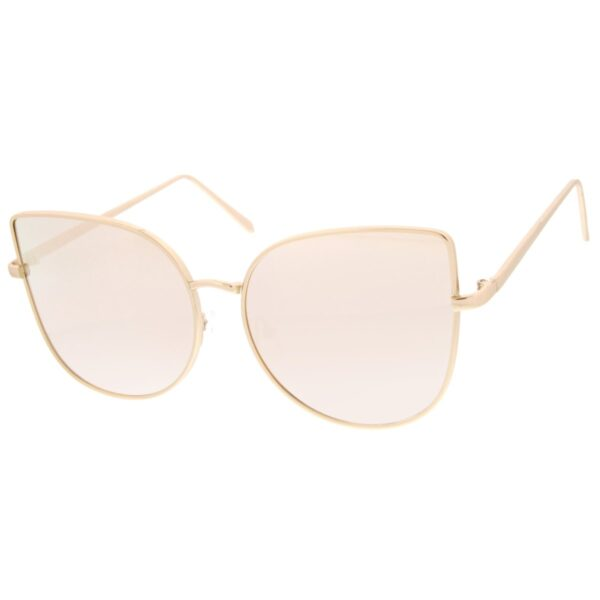 pink reflective sunglasses - buy online - iamtrend