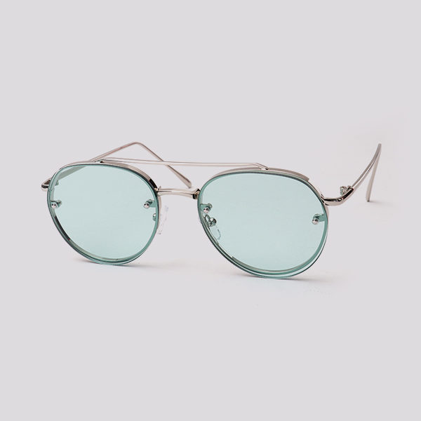 BLUE transparent sunglasses - buy online - iamtrend