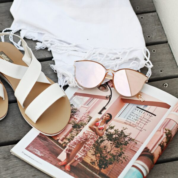 rose gold reflective sunglasses - buy online - iamtrend