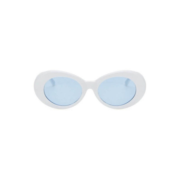 white frame blue lens black sunglasses - buy online - iamtrend