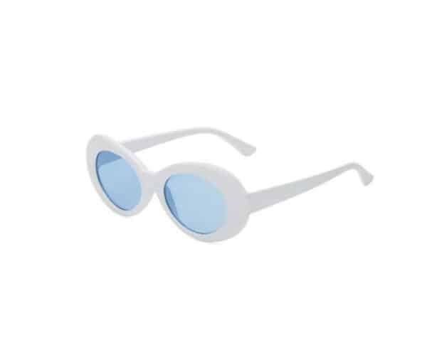 white frame blue lens black sunglasses - buy online - iamtrend