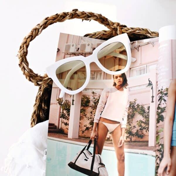white black sunglasses - buy online - iamtrend