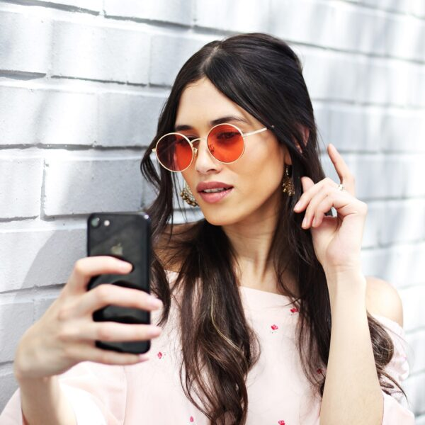 red round sunglasses - buy online - iamtrend
