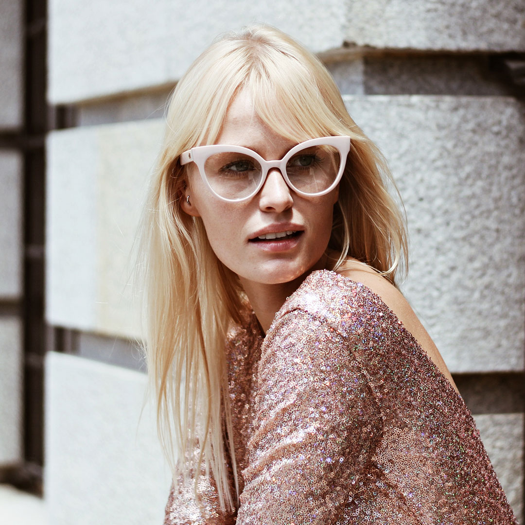 sunglasses with white frames - buy online - iamtrend