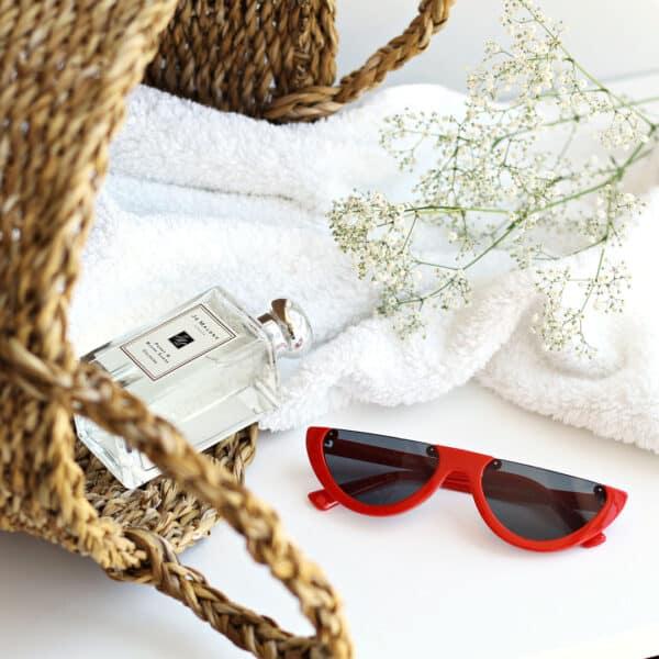 red framed sunglasses - buy online - iamtrend