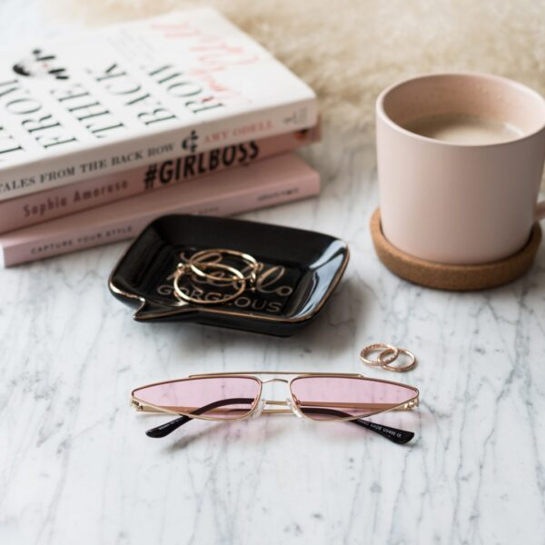 pinkcat eye sunglasses - buy online - iamtrend