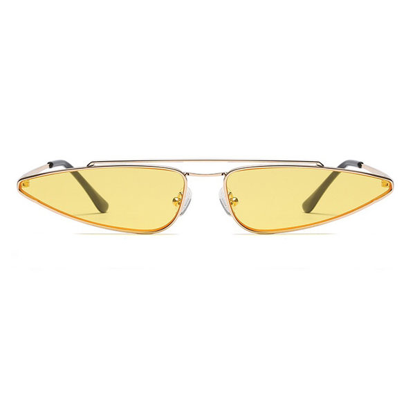 yellow black cat eye sunglasses - buy online - iamtrend