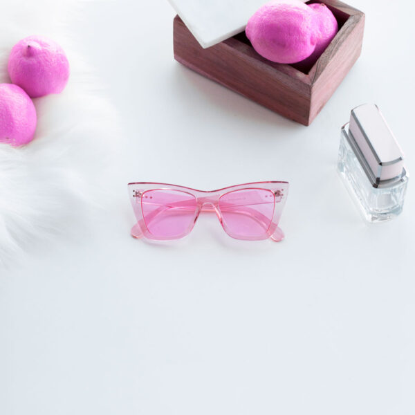 pink transparent sunglasses - buy online - iamtrend