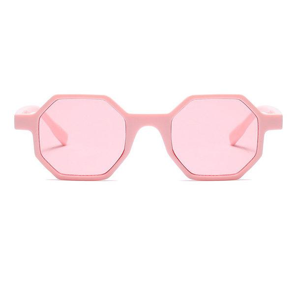 pink hexagonal sunglasses - buy online