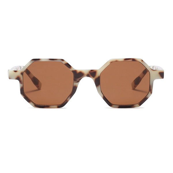 tortoise shell hexagonal sunglasses - buy online