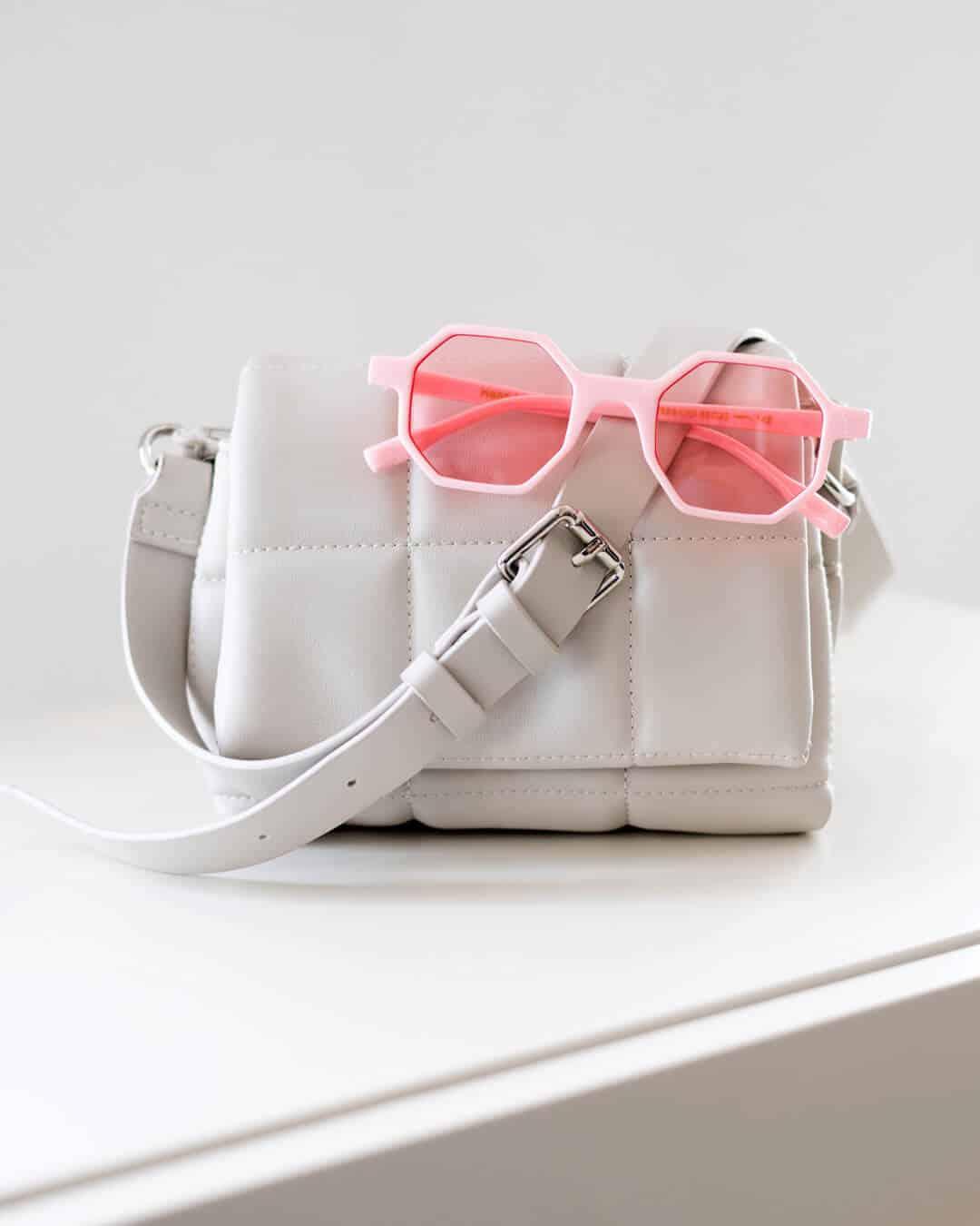 Pentagon funky pink sunglasses
