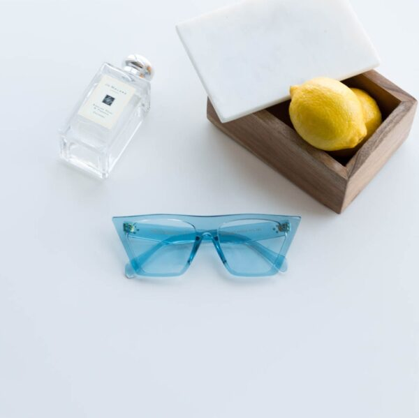 blue transparent sunglasses - buy online - iamtrend