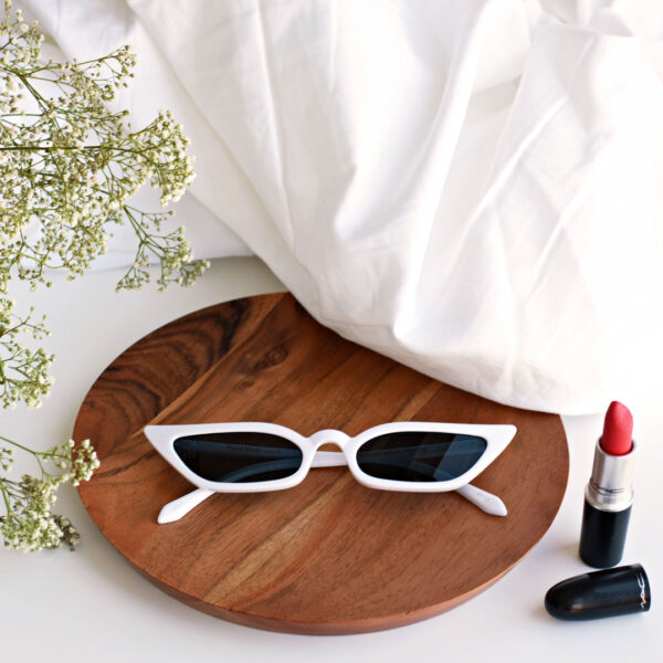 white framed cat eye sunglasses - buy online - iamtrend