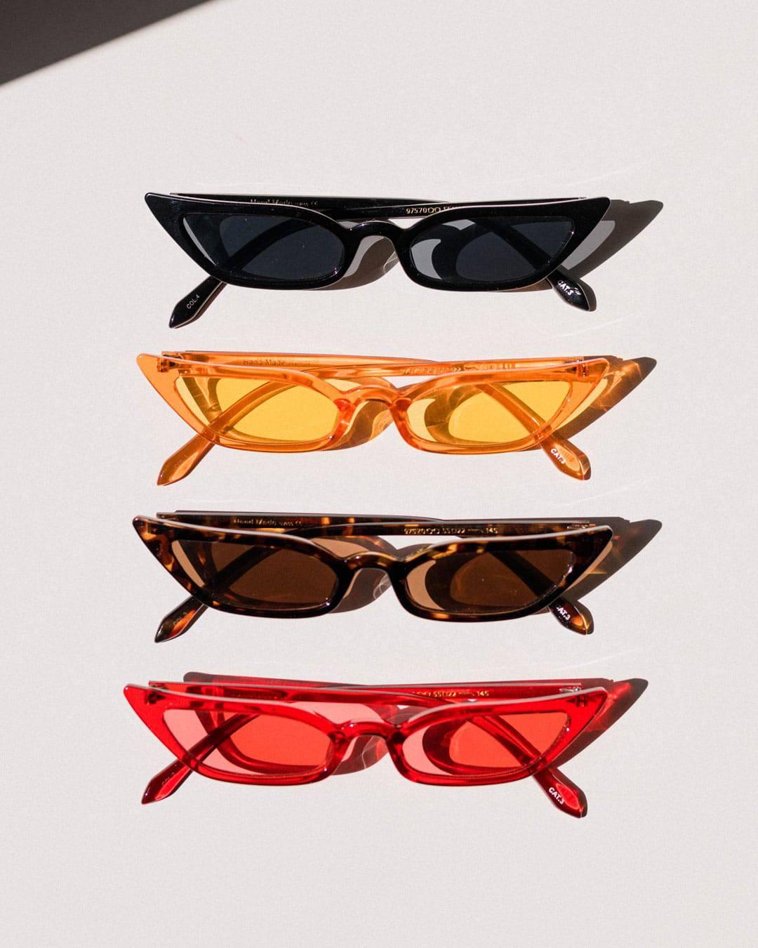 cat eye fashion sunglasses