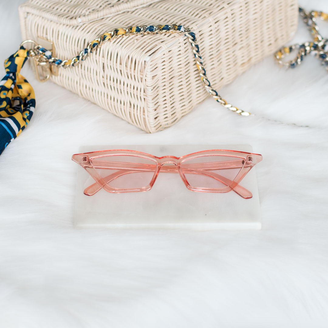 pink cat eye sunglasses - buy online - iamtrend
