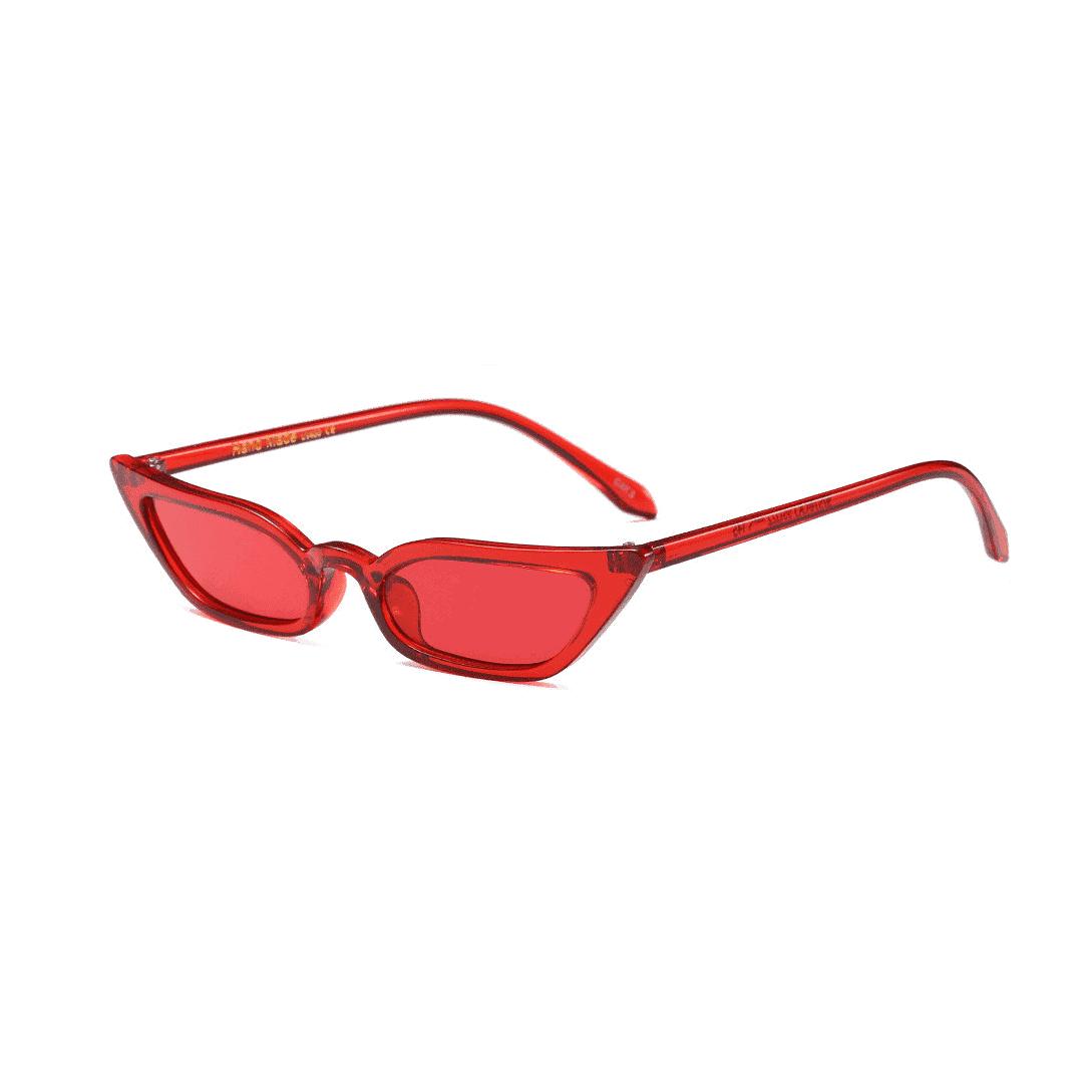 red cat eye sunglasses - buy online - iamtrend