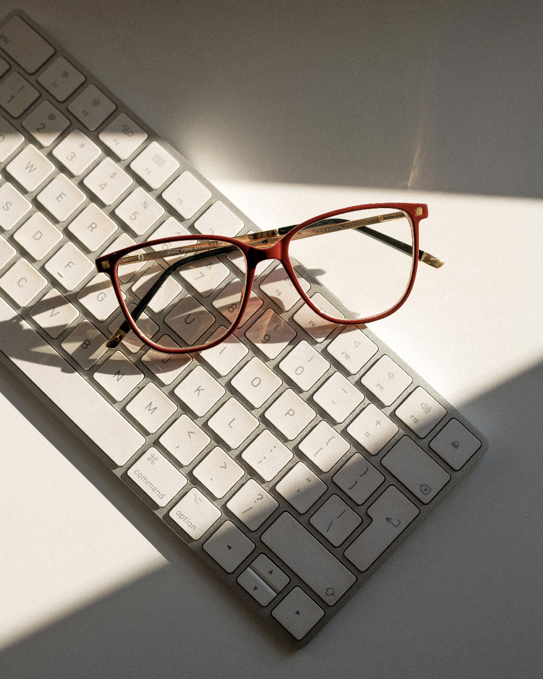 Burgundy Square Opticals