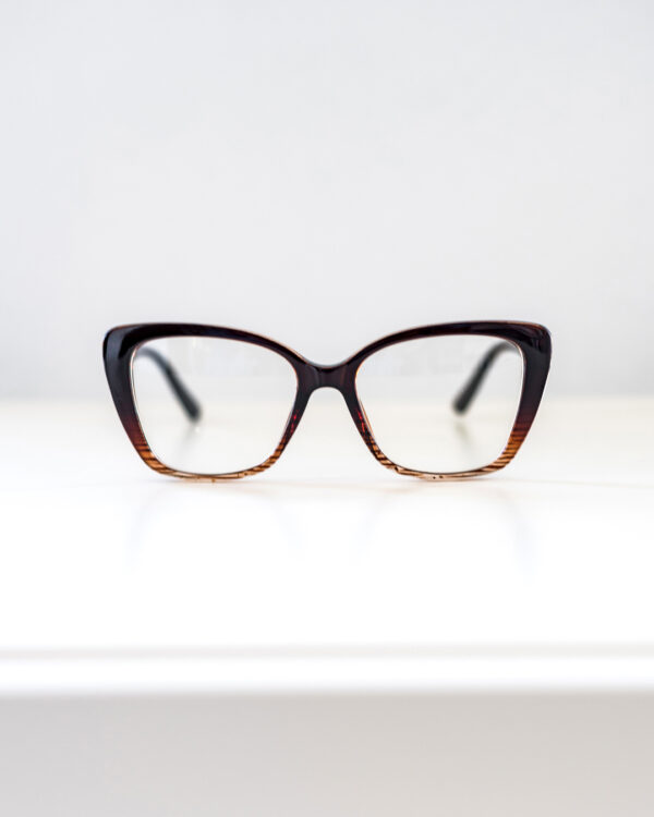 Brown Cateye Glasses