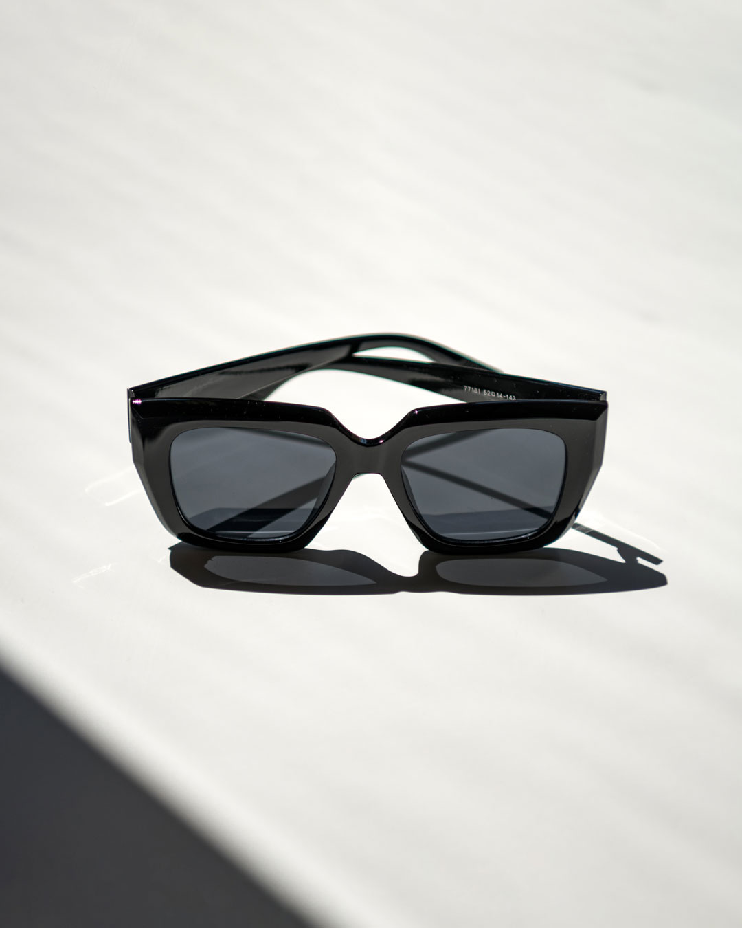 Bold Black Sunglasses