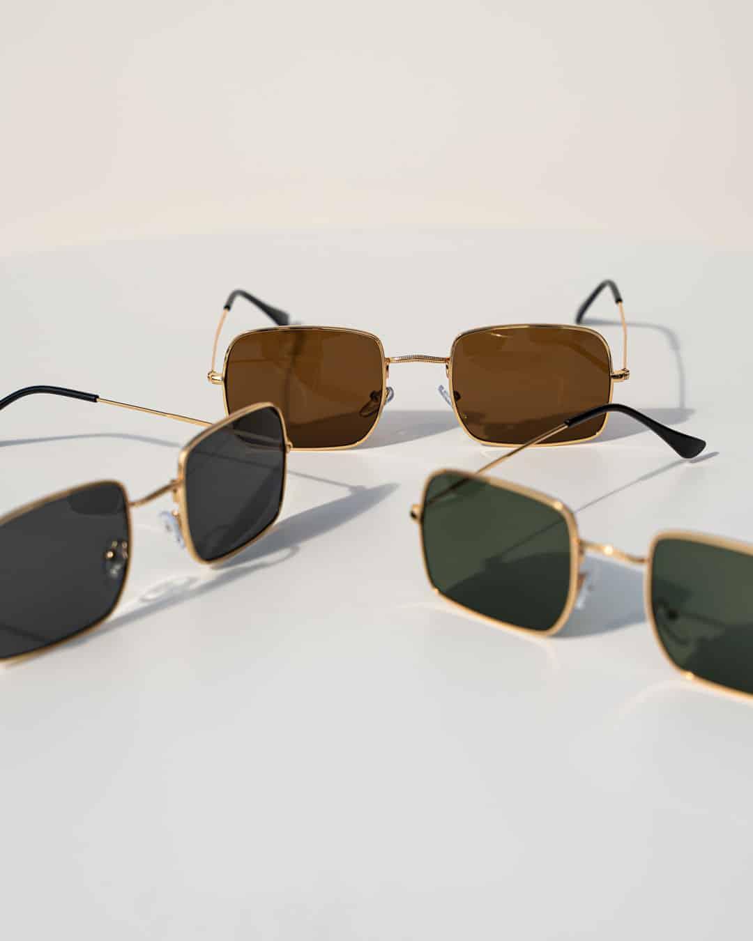 Charlie UV400 Metal Sunglasses